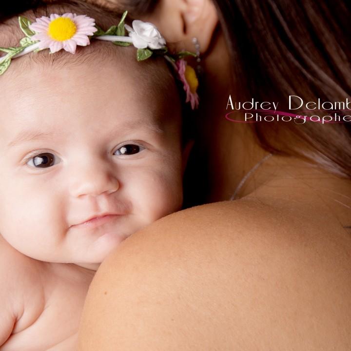 Photographe bébé var   Lou et ses parents