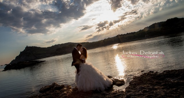 Photographe Mariage Var | Trash the Dress d'Anais et Remy