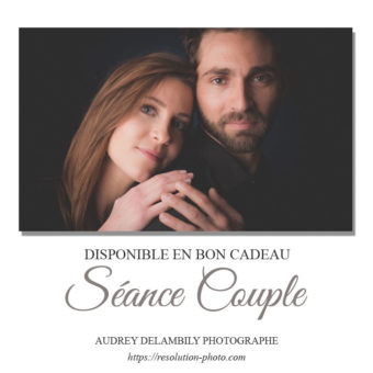 Séance photo d'un couple amoureux en studio à Toulon
