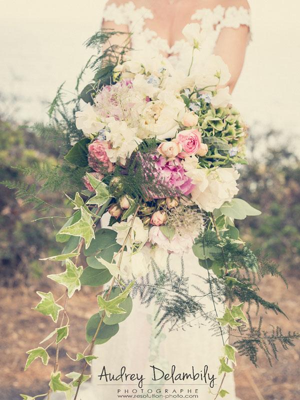 Bouquet de mariage pour une future mariée