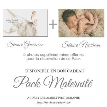 2 Séances photos Grossesse et Naissance Pack maternité