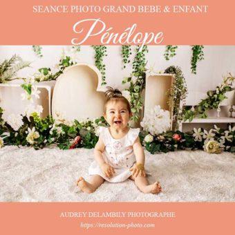 Séance photo avec décor Printanier pour enfants à Toulon