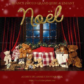 Séance photo Noel pour les enfants à Toulon